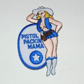 240 - Patch - Pistol Packin` Mama