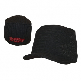 Alchemy Jeep Cap - DeLuxe Black & Red - Alchemist