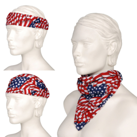 Multi Cap - Bandana - Scarf Waving USA