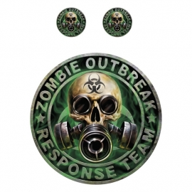 Lethal Threat Decals/Stickers / Zombie Outbreak Response Team