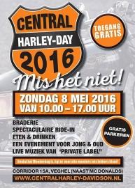 x 2016/05 - 08 may - Harleydag Veghel - Central