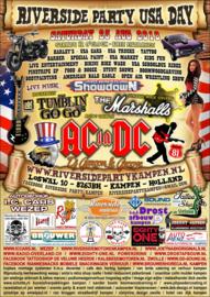 x 2018/08, 25 aug. - Riverside (81) Party USA Dag Kampen