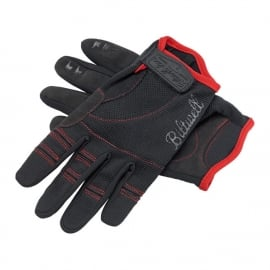 Biltwell INC - Moto Gloves - Black/Red