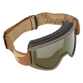 Goggles - Biltwell Moto 2.0 - Replacement Anti Fog lens - GOLD