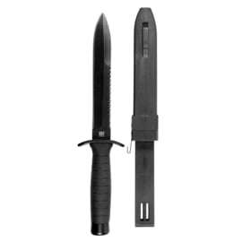 Black Hunting Knife