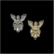 P100 - Pin - Biker Guardian Angel