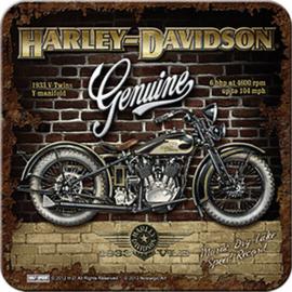 Harley-Davidson Coaster  - Genuine - V-twin 1933