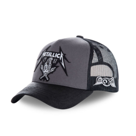 VON DUTCH METALLICA TRUCKER CAP BLACK