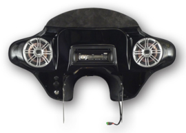 Dead Center Fairing - RoadKing Bagger - FULL STEREO - FLHR