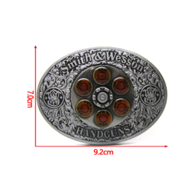 Belt Buckle - Smith and Wesson .44 Magnum Spinner
