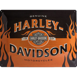 Large Metal Plate - Harley-Davidson - 3D - 1903 - special edition