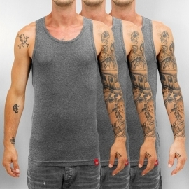 Dickies - Men's fitted Tank Top - GREY