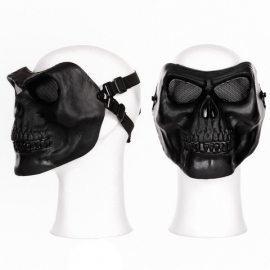 Face Mask - Full Skull - Black
