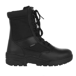 Sniper/Combat Boots - Leather & 3M breathing sides - BLACK