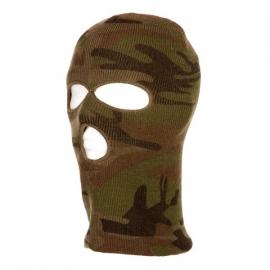 Balaclava Face Mask - 3-hole - Camouflage