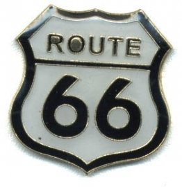 Pin - route 66 - White Shield