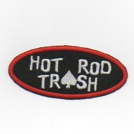 230 - Patch - HOT ROD TRASH (ace of spades)