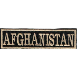 Golden PATCH - Flash / Stick - AFGHANISTAN