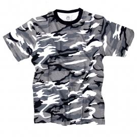 T-shirt Camouflage - Urban / Grey Camouflage - Fostee