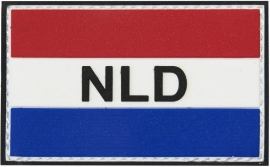 Patch - Dutch Flag - 3D Vlag Holland - NLD - VELCRO / PVC - NEW