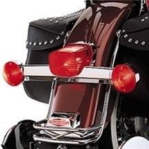 Harley-Davidson - RED TURN SIGNAL LENS - FL / ROAD KING & other models