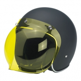 Biltwell Jet - Bubble Visor - Yellow - Bubble Shield