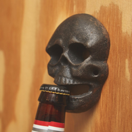 Wall Bottle Opener - Vintage Skull
