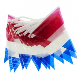 Flag - Nederland / Holland Vlaglint - 10 mtr - 20 flags