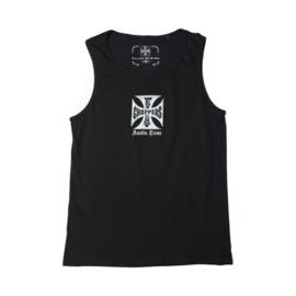 Tank Top WCC - West  Coast Choppers - Black - double print