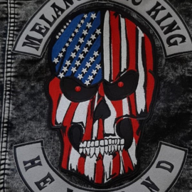 000 - BackPatch - USA Skull - large