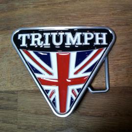 Belt Buckle - Union Jack - Triumph