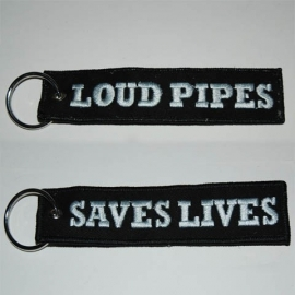 Keychain - Loud Pipes - Saves Lives
