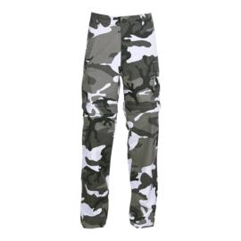 BDU Combat trousers - Zip Off! Urban Camouflage