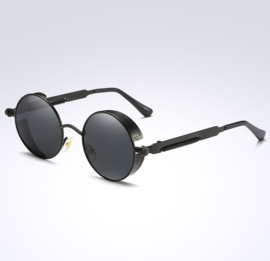 Rebel Sunglasses - Steampunk - Black & Grey