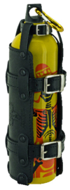 Texas Leather Fuel Bottle holder (or any other kind of bottle)