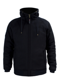 John Doe - Defense Motorcycle Hoodie - Black