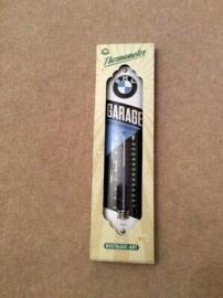 BMW - Tin Sign - 'Garage' Thermometer