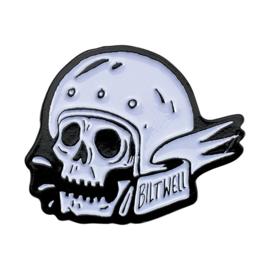 Biltwell Skull Helmet - Biker Pin