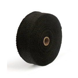 "EXHAUST INSULATING WRAP. 2"" WIDE BLACK"