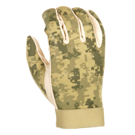 Military Tactical Gloves -  Digital Camouflage