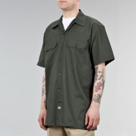Dickies - S/S work shirt - Dark Green