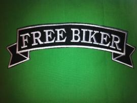 000 - BackPatch - Free Biker - large