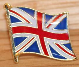 P244 - small Pin - Waving Flag - Union Jack - UK