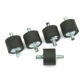 BATTERY BOX/OIL TANK MOUNT RUBBER - 5 pieces
