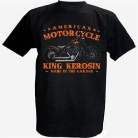 King Kerosin - American Motorycle - Made in the Garage T-shirt
