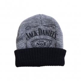 Jack Daniels - Beanie [grey-black]