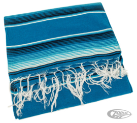 Mexican blanket - Blue Cozumel - Original Mexico - DeLuxe