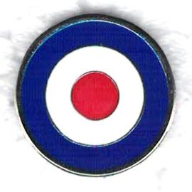 PIN - The WHO - Bulls Eye - RAF