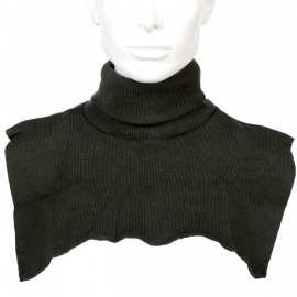 Black Polo-neck Turtle-neck - Col - FOSTEX