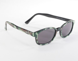 Sunglasses - Classic KD's - CAMOUFLAGE frame & SMOKE lens